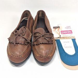 Drexlite Kiltie Tassel Loafers Women's 7.5 Wide